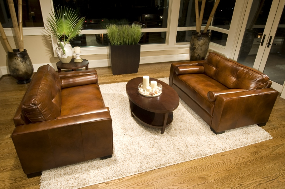 Soho 2 Leather Oversized Accent Chairs Elements Fine Home Furnishings